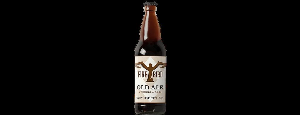 Old Ale Bottle Wide